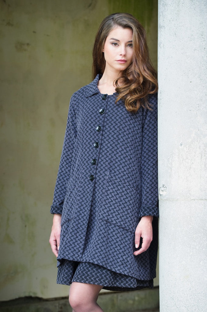 Coat and Tunic Dress