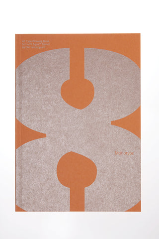 FF Signa Stencil A5 type drawing book