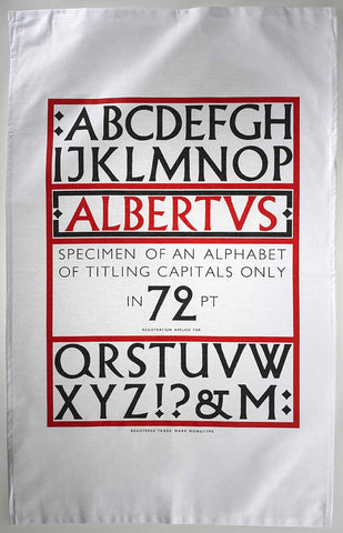 Albertus tea towel