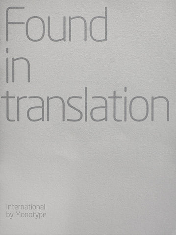 International collection booklet