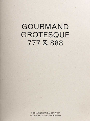 Gourmand sample book