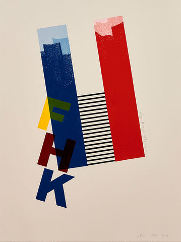 FHK Henrion print by Alan Kitching