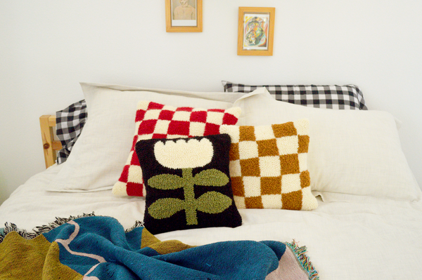 Checker Pillow