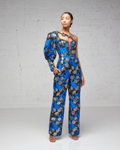 Damask One Sleeve Jumpsuit