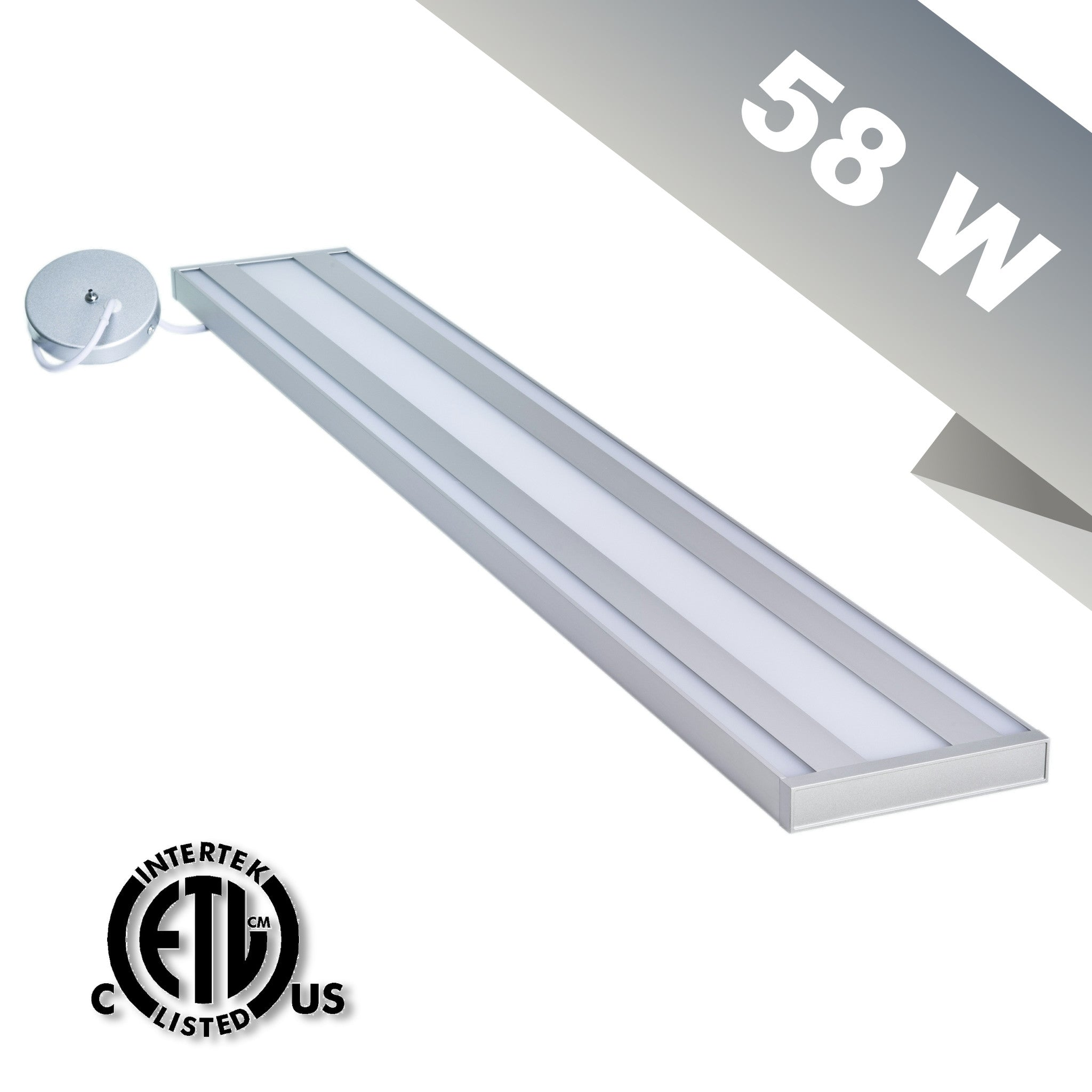 58 Watt NLCO LED Pendant Fixture, Day White Light (4000