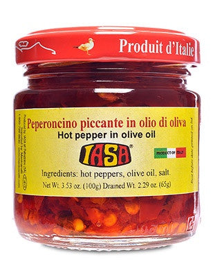 Hot Pepper in Olive Oil  PEPERONCINO PICCANTE IN OLIO D'OLIVA