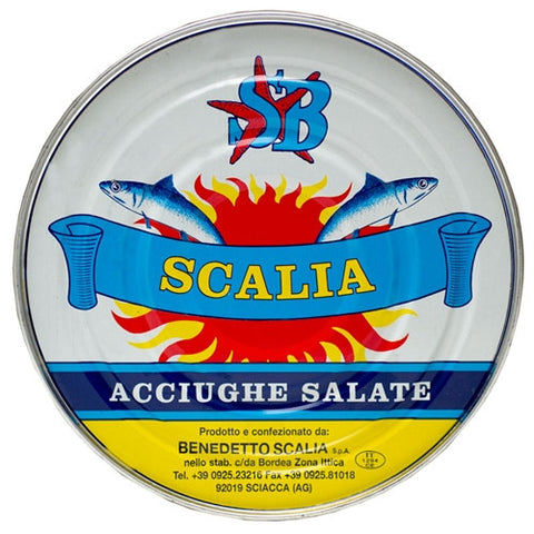 Salted Anchovies by Scalia