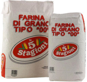 "Le 5 Stagioni Pizza Flour  Red ""00"" Type"