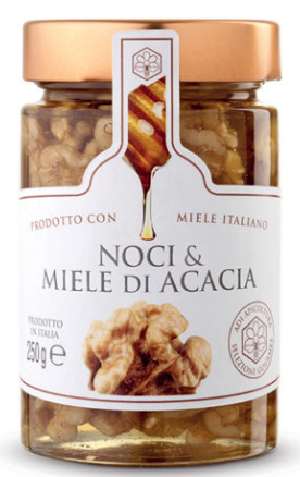 Sweet Honey Acacia Organic  and Walnuts