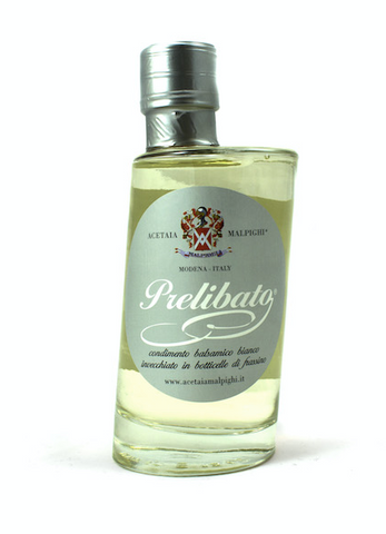 Balsamic Vinegar Prelibato Bianco in Bottle Acetaia Malpighi  200ml