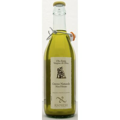 Extra Virgin Olive Oil Bottle Unfiltred 100% Italiano - 750ml