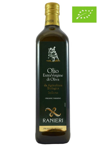 Extra Virgin Olive Oil Bottle Organic 100% Italiano - 750ml