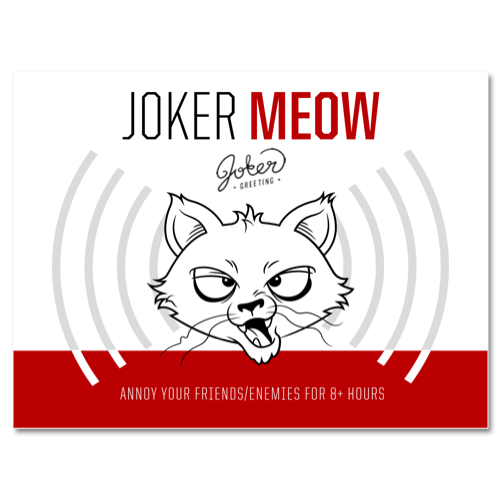 The Joker Meow is the Cat's Pajamas