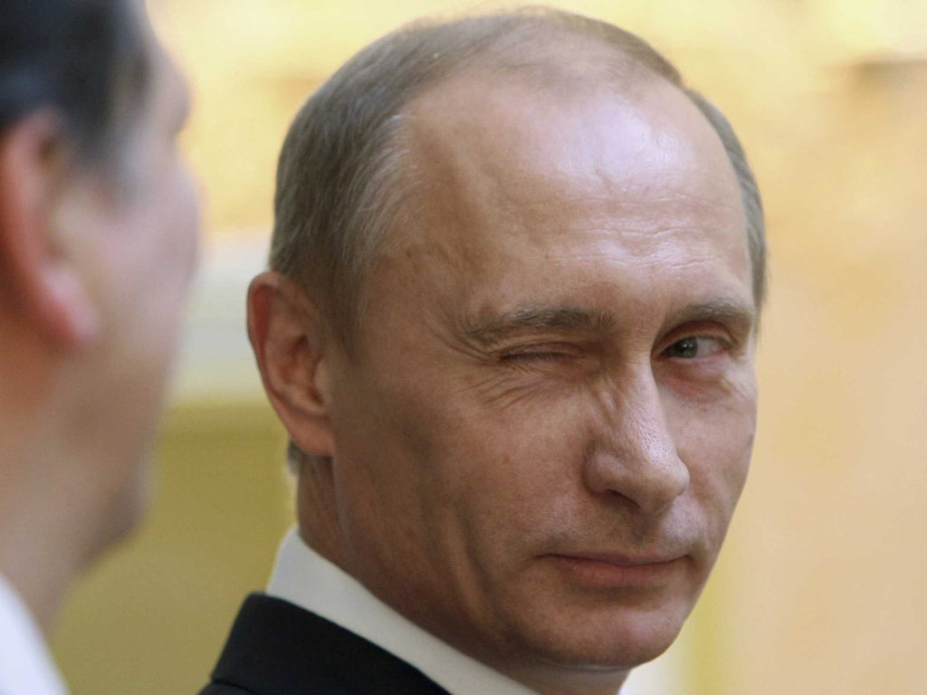 "12 Memorable Times Putin Said ""You're Welcome"" with a Congratulations Card"