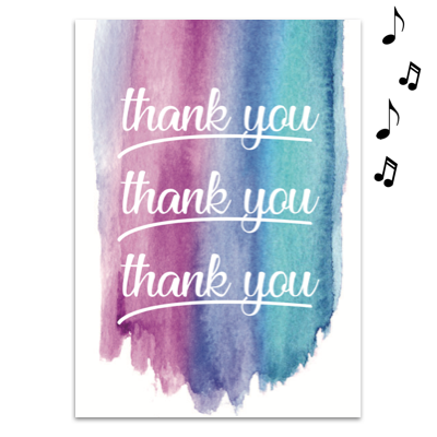 Endless Thank You with Glitter 1
