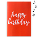 Master Red Birthday With Glitter 1