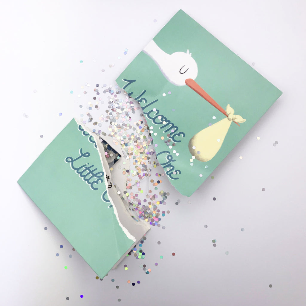 Joker Endless Baby Shower Greeting Card cries non-stop