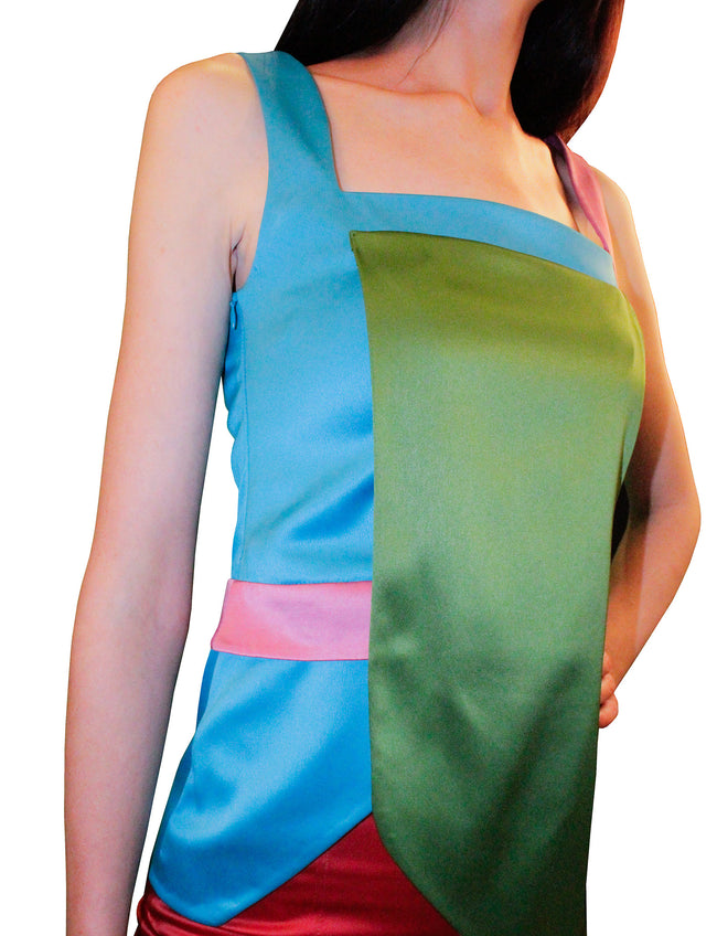 Women Tops, Multi-Colour Asymmetric Top