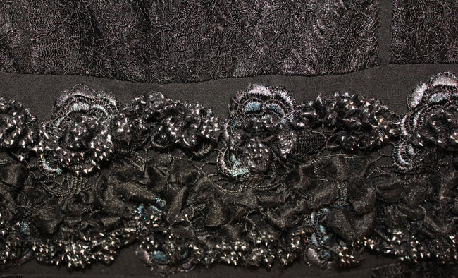 Black Embellished Trimmings from Herabe New Collection
