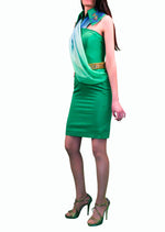 buy women dresses, green tea dress