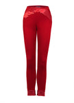 Ruby Red Skinny Trousers