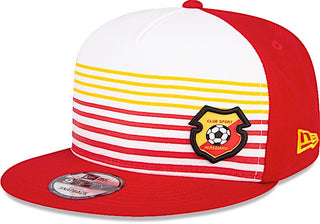38fd32dd46ae Club Sport Herediano Gorra 9FIFTY Ajustable Roja y de Rayas de New Era