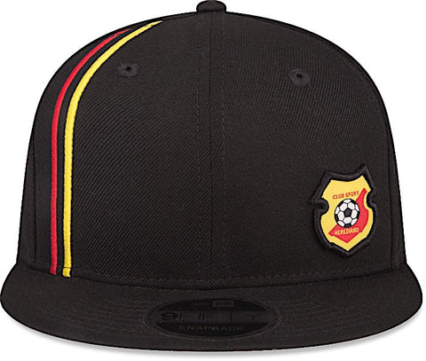 Club Sport Herediano Gorra Negra 9FIFTY Ajustable de New Era