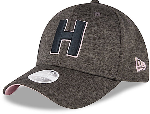 Club Sport Herediano Gorra Negra de Mujer 9FORTY Ajustable de New Era