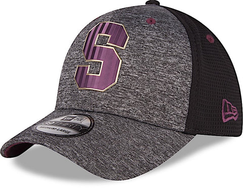 Saprissa Gorra 39THIRTY M/L Gris Shadow Tech de New Era