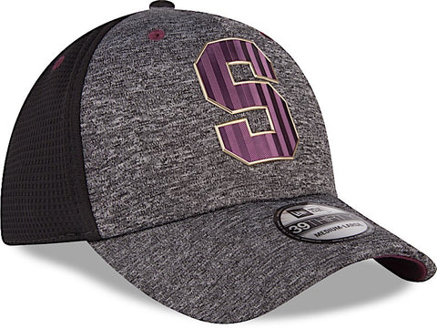 Saprissa Gorra 39THIRTY S/M Gris Shadow Tech de New Era