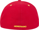 New Era 59 Fifty  Herediano roja con visera negra