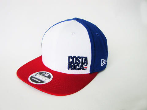 Costa Rica Tricolor Gorra New Era 9Fifty Ajustable