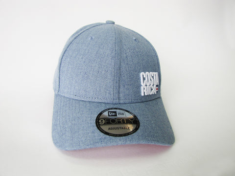 Costa Rica Azul Vintage Gorra New Era 9Forty Ajustable