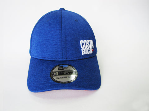 Costa Rica Azul Vintage Gorra New Era 39Thirty S/M