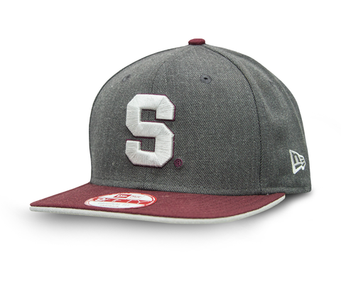 9fifty snapback New Era saprissa gris vicera morada
