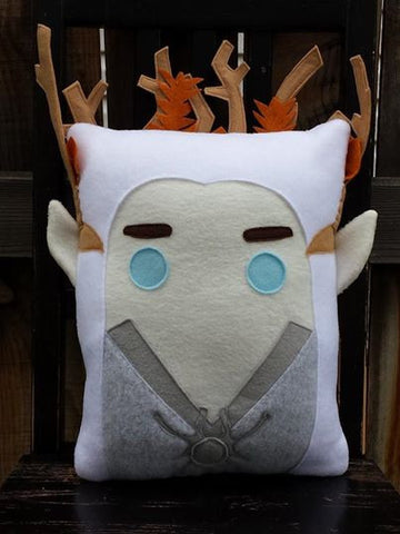 Thranduil, Lord of the Rings, The Hobbit, pillow, plush