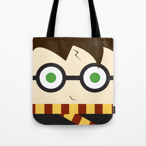 Boy Wizard tote, Harry, tote bag