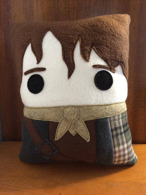 Outlander, Jamie Fraser pillow, decorative pillow