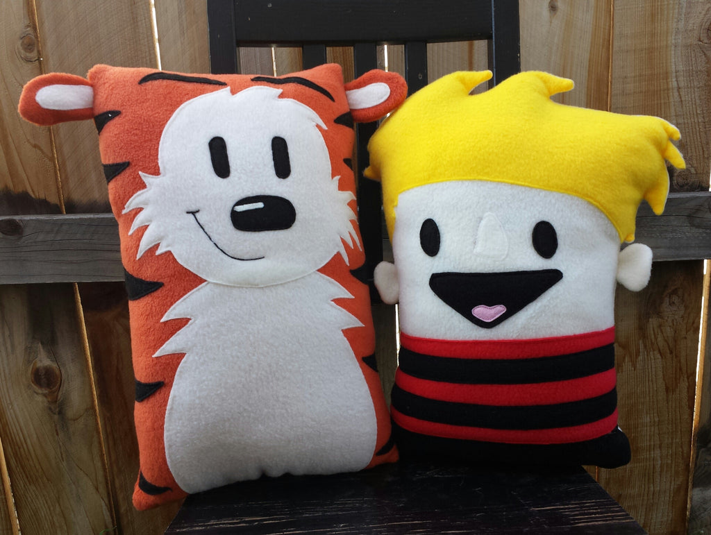 Calvin and Hobbes pillow plush