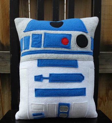 R2D2 pillow, cushion, plush