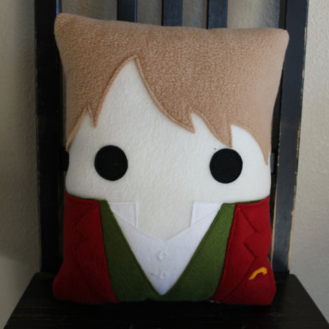 Bilbo, Lord of the Rings, The Hobbit, pillow, plush