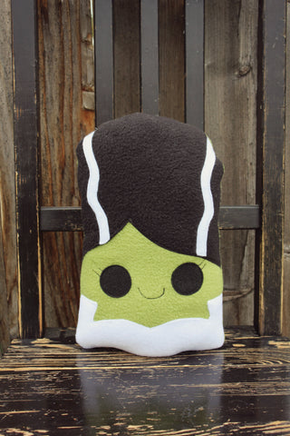 Bride of Frankenstein plush toy, halloween plush