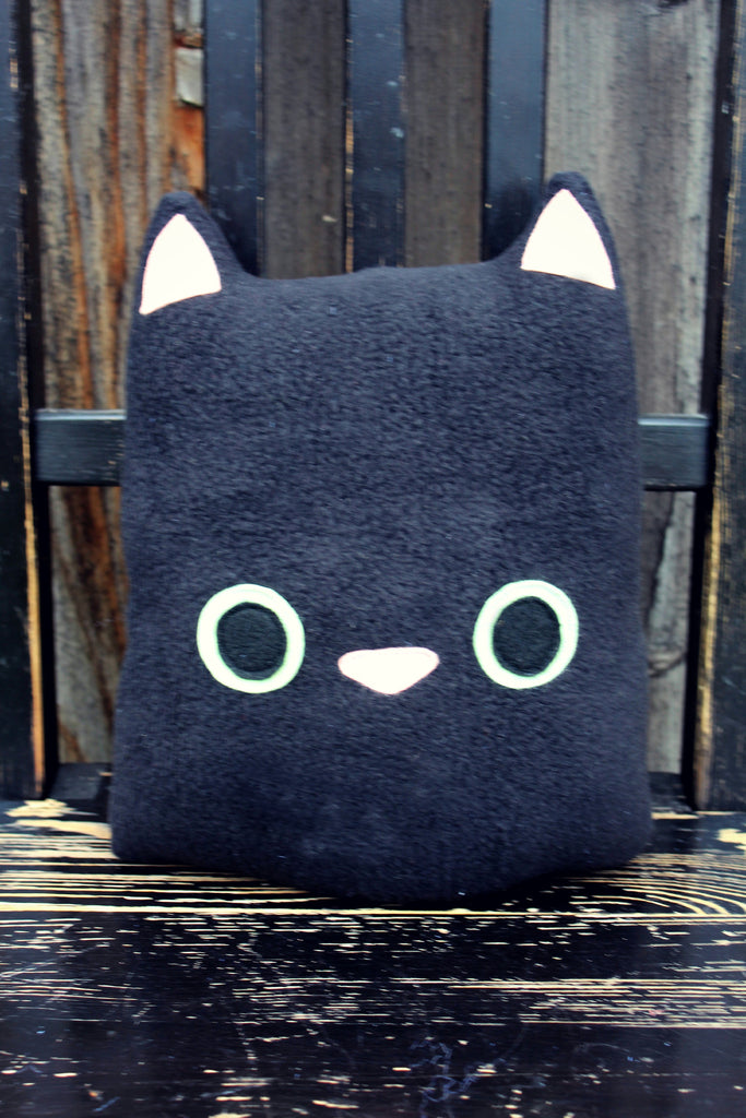 black cat plush
