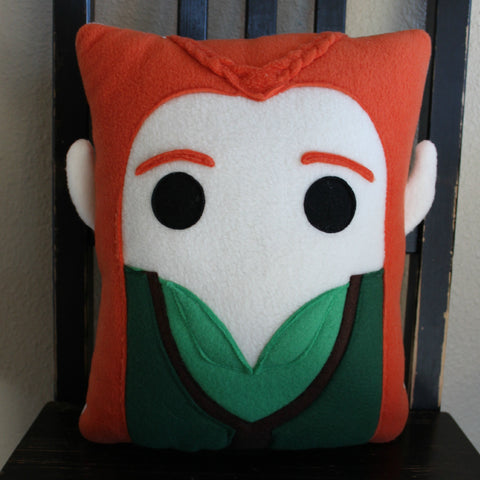 Tauriel, Lord of the Rings, The Hobbit, Pillow