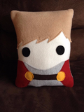 Merlin, Arthur, pillow, plush, cushion, throw pillow, plush
