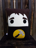 Dr. Horrible, Captain Hammer, Sing along blog, pillow, plush, cushion