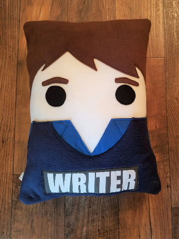 Castle, Nathan Fillion, pillow, plush, cushion