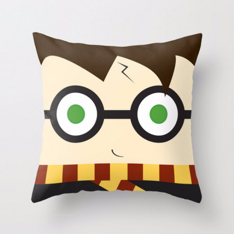 Harry Potter printed pillow, plush, cushion