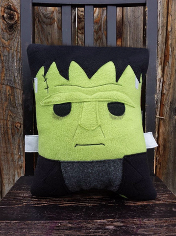 Frankenstein, Classic Monsters, pillow, plush, cushion