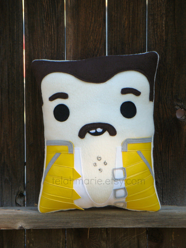 Freddie Mercury pillow, decorative pillow